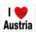 I Love Austria Small Poster