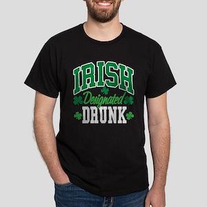 Irish Designated Drunk Dark T-Shirt