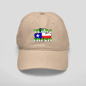 Texas Irish Shamrock Cap