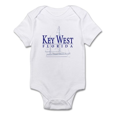 Key West Sailboat - Infant Bodysuit