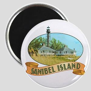 Sanibel Lighthouse - Magnet