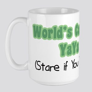 World's Coolest YaYa Large Mug