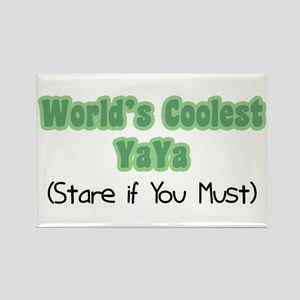 World's Coolest YaYa Rectangle Magnet
