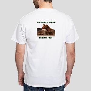 LOGGER White T-Shirt