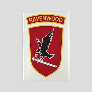 Ravenwood Rectangle Magnet