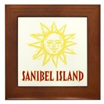 Sanibel Sol - Framed Tile