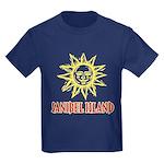 Sanibel Sol - Kids Dark T-Shirt