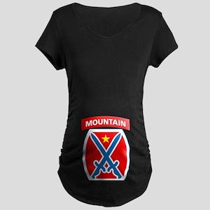 10th Mountain Maternity Dark T-Shirt
