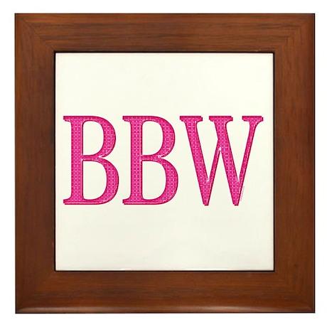 BBW Framed Tile
