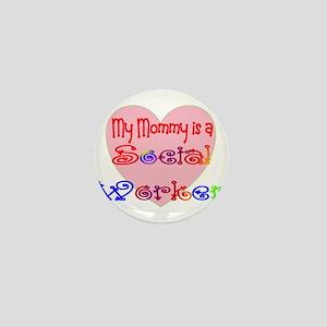 Social Worker Mini Button