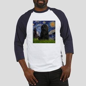 Starry Night (Van Gogh) & Puli Baseball Jersey