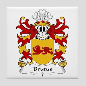 Brutus (AP JULIUS AB ASCANIUS) Tile Coaster