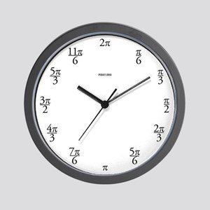 Clock in Terms of Pi