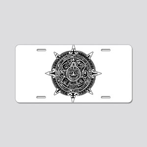 Aztec Aluminum License Plate