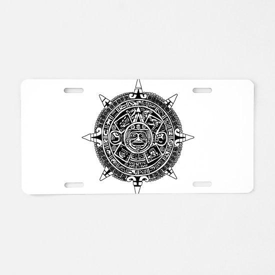 Aztec Aluminum License Plate