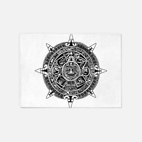 Aztec 5'x7'Area Rug