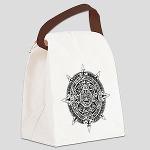 Aztec Canvas Lunch Bag