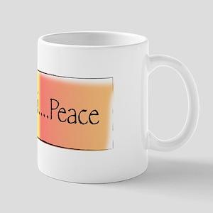 Om Shanti...Peace Mug