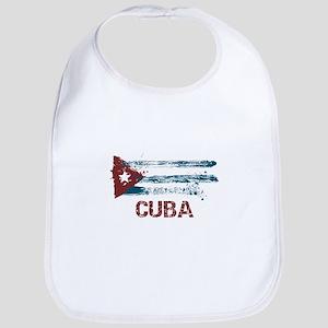 Cuba Grunge Flag Bib