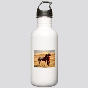 Pretty Horses Stainless Water Bottle 1.0L