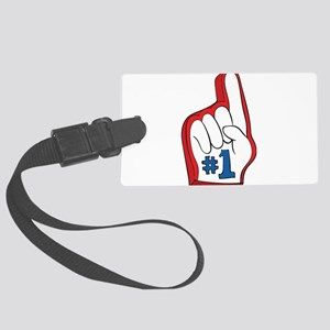 Number one Large Luggage Tag