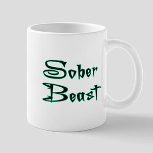 Sober Beast Blue Mug
