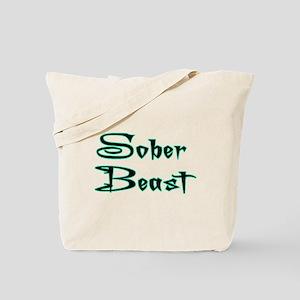 Sober Beast Blue Tote Bag