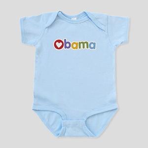 Obama Heart Infant Bodysuit