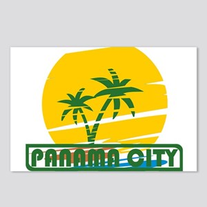 Summer panama city- flori Postcards (Package of 8)
