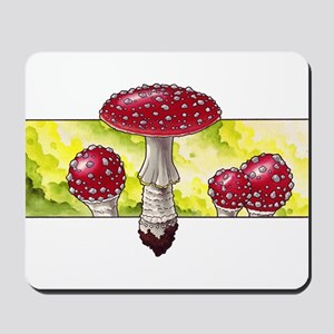 Amanita Green Mousepad