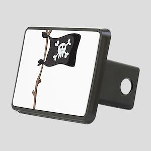 Pirate Rectangular Hitch Cover