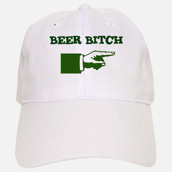 I'm With Beer Bitch Baseball Baseball Cap
