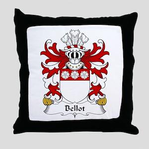 Bellot (Burton, Denbighshire) Throw Pillow