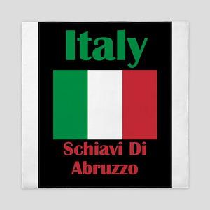 Schiavi Di Abruzzo Italy Queen Duvet