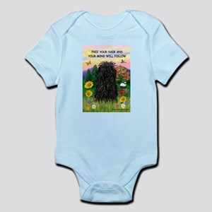Free Your Hair.....Puli Infant Bodysuit