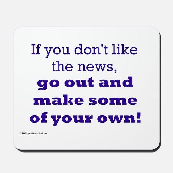 MAKE NEWS Mousepad