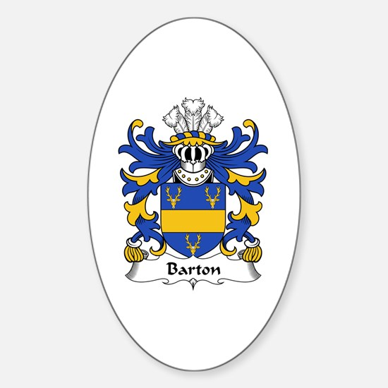 Barton Oval Decal