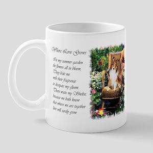 Sheltie Art Gifts Mug