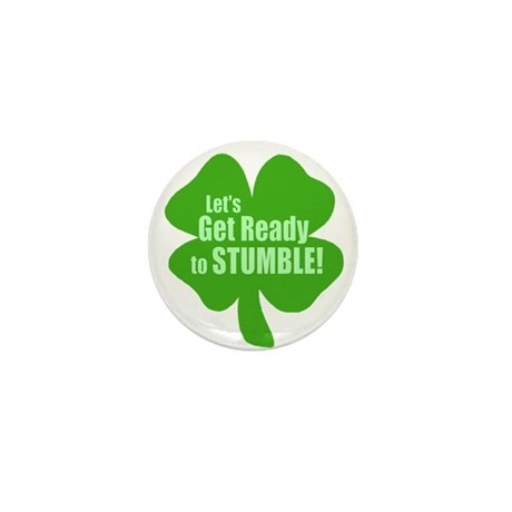 Lets Get Ready To Stumble Mini Button (10 pack)