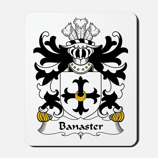 Banaster (of Flint) Mousepad