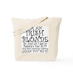IRISH BLONDE Tote Bag