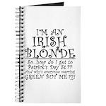IRISH BLONDE Journal