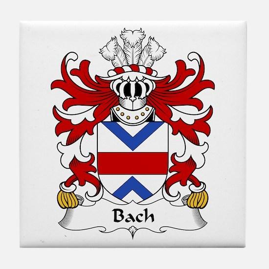 Bach (AP GWAITHFOED) Tile Coaster