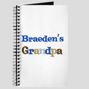 Braeden's Grandpa Journal