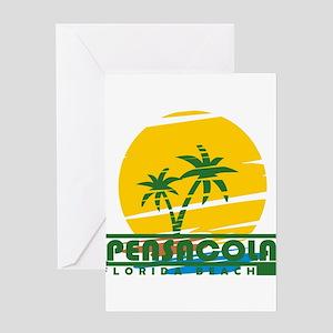 Summer pensacola- florida Greeting Cards