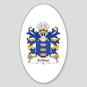 Arthur II (ab uthr pendragon-King Arthur) Sticker