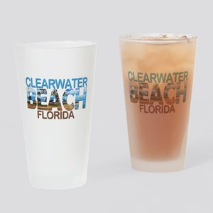 Summer clearwater- florida Drinking Glass