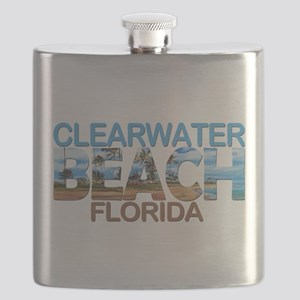 Summer clearwater- florida Flask