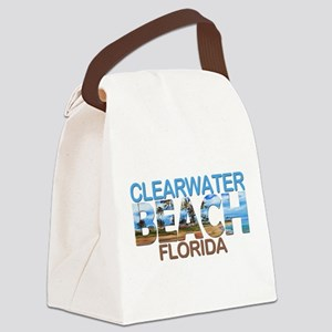 Summer clearwater- florida Canvas Lunch Bag