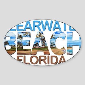Summer clearwater- florida Sticker